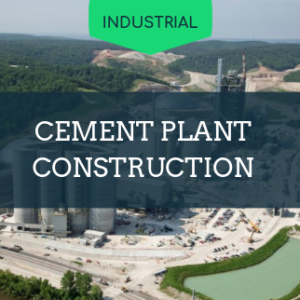 construction of cement plant