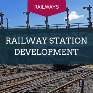railway station development training covers